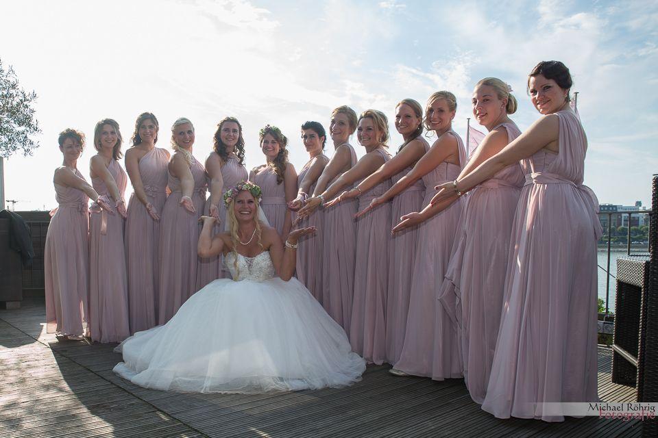 Michael Röhrig Hochzeitsfotograf - Die Braut mit den Brautjungfern