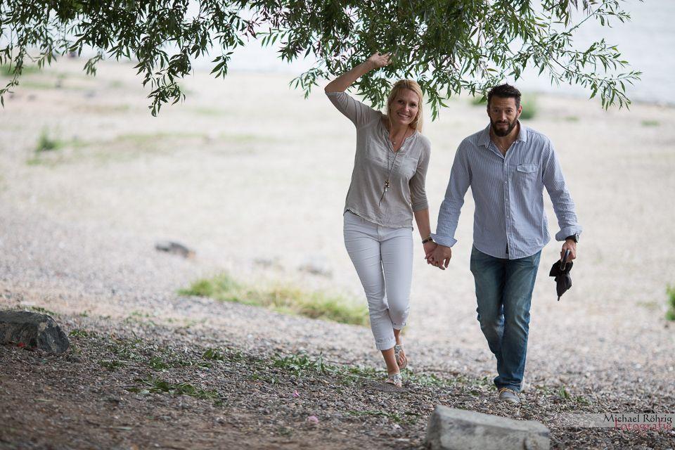 Michael Röhrig Hochzeitsfotograf - Probe-Brautpaarshooting am Rhein